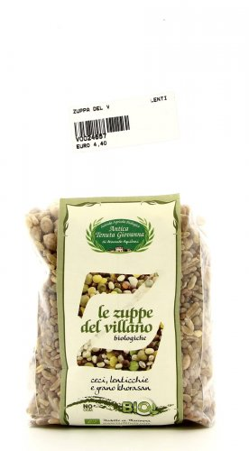 Zuppa del Villano - Ceci Lenticchie e Grano Khorasan