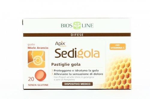 Pastiglie Gola - Miele e Arancio - Apix® Sedigola