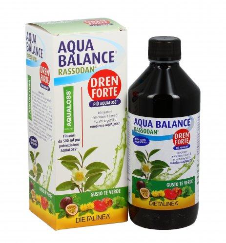 Aqua Balance Rassodan Dren Forte gusto Tè Verde
