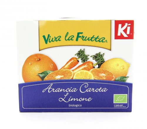 Arancia Carota Limone - 3x200 ml.