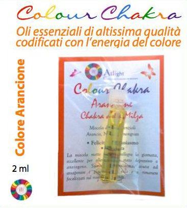 Colour Chakra Oil Arancione 2 ml - Felicità, entusiasmo, presenza