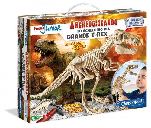 Lo Scheletro del Grande T-Rex - Focus Junior