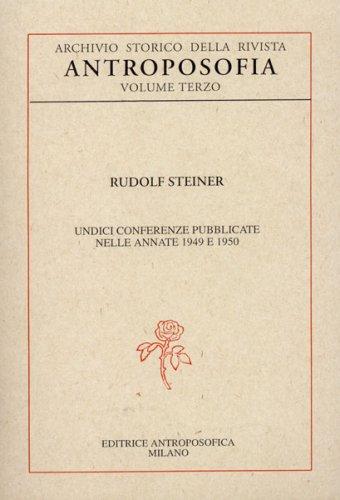 Archivio Storico della Rivista Antroposofia - Vol. 3