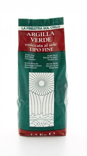 Argilla Verde Essicata al Sole - Tipo Fine