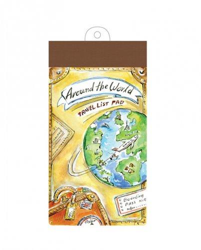 Blocchetto List Pad Around The World - 60 Fogli