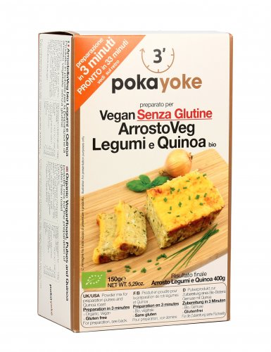 ArrostoVeg - Legumi e Quinoa Bio
