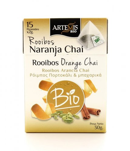 Té Rooibos Orange Chai Bio