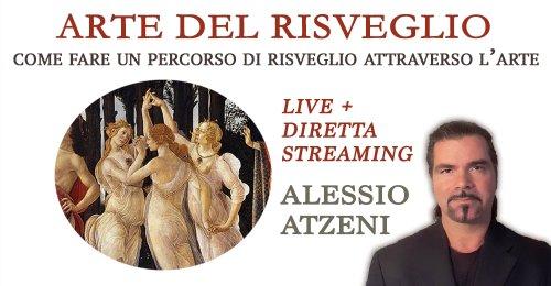 """Workshop """"Arte del Risveglio"""" con Alessio Atzeni – Giovedì 29 ottobre 2020"""
