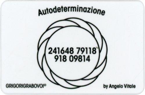 Tessera Radionica 109 - Autodeterminazione