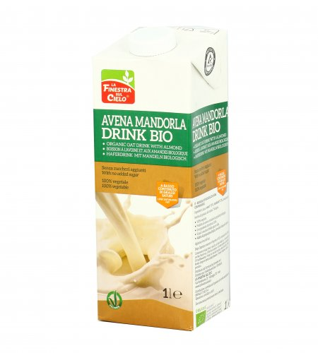 Bevanda di Avena con Mandorla Bio