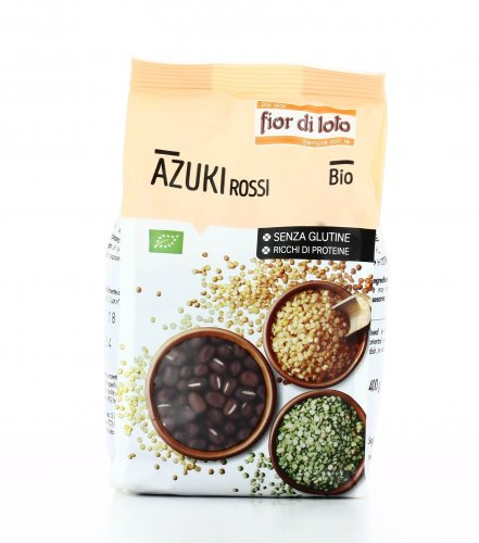 Azuki Rossi Biologici Senza Glutine