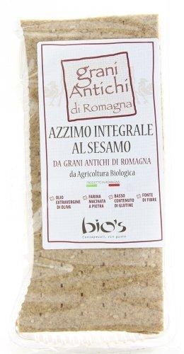 Azzimo Integrale al Sesamo da Grani Antichi di Romagna