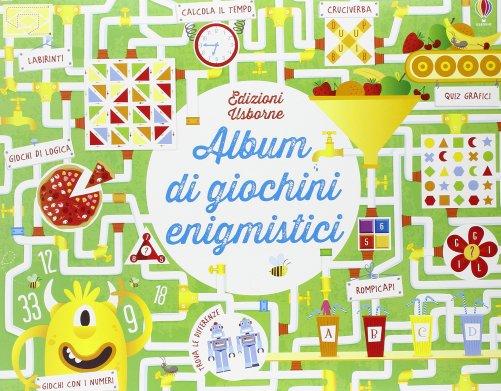 Album Di Giochini Enigmistici Kirsteen Robson Libro