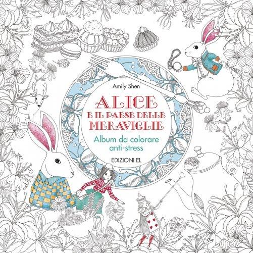 Album Da Colorare Alice E Il Paese Delle Meraviglie