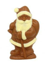 Babbo Natale di Cioccolato al Latte e Cioccolato Bianco