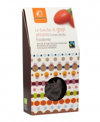 Bacche di Goji Ricoperte di Cioccolato Fondente