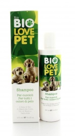 Eco Bio Love Pet - Shampoo per Cuccioli - Per Tutti i Colori di Pelo