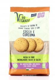 Biscotti con Cocco e Curcuma - BioVegando
