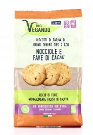Biscotti con Nocciole e Fave di Cacao - BioVegando