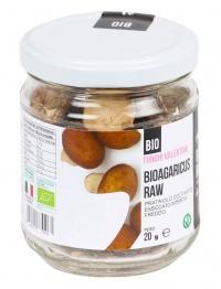 Bioagaricus Raw - Prataiolo Coltivato Bio Essiccato Intero (agaricus)