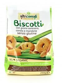 AltriCereali - Biscotti Grano Saraceno Carota e Mandorle