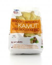 Biscotti KAMUT® - grano khorasan alle Nocciole