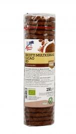 Biscotti Multicereali al Cacao Bio