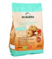 Biscotto Bio con Farina di Lino e Semi di Chia
