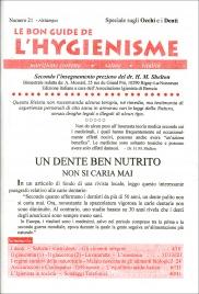 La Bon Guide de l'Hygienisme - Numero 21 - Speciale sugli Occhi e sui Denti