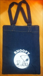 Borsa in Jeans - Snoopy