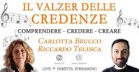 """Seminario """"Il Valzer Delle Credenze"""" - con Carlotta Brucco e Riccardo Telesca - Sabato 26 Settembre 2020"""