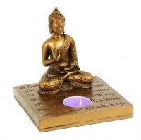 Portalumino con Buddha