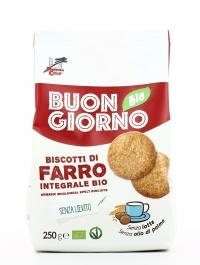 Buongiorno Bio - Biscotti di Farro Integrale Bio