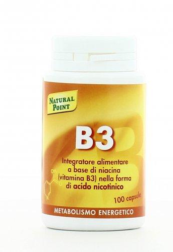 Integratore Naturale Metabolismo Energetico B3