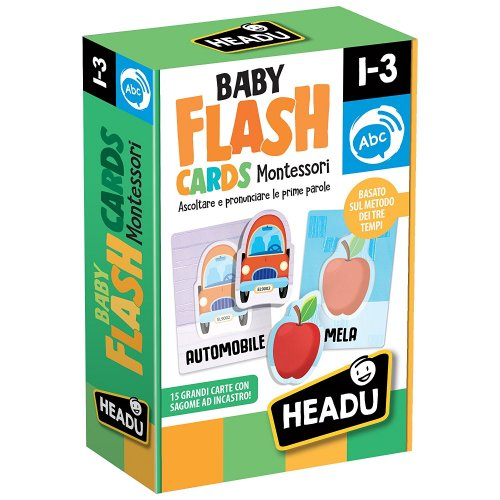 Baby Flash Cards - Montessori