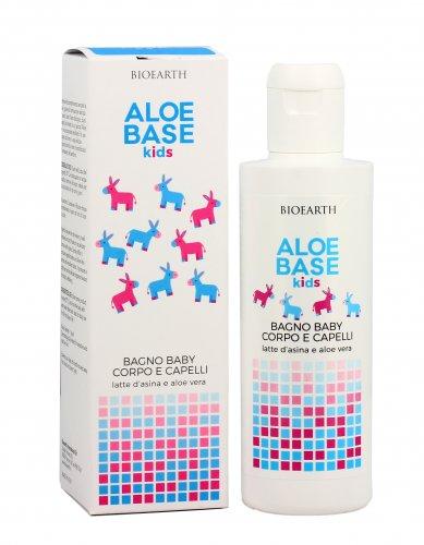 Bagno Baby Corpo e Capelli - Aloe Base Kids