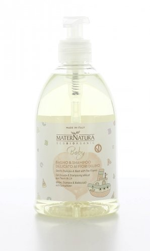 Bagno e Shampoo Delicato ai Fiori di Lino