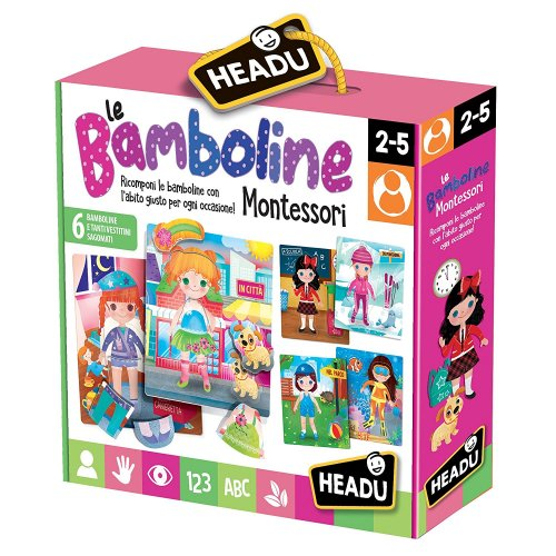 Le Bamboline Montessori 3/5 Anni