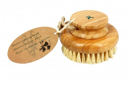 Spazzola Corpo Tonda - Bamboo Massage Brush