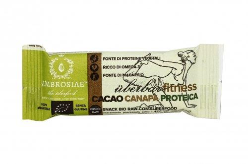 Barretta Bio con Cacao e Canapa Proteica