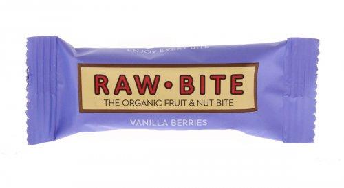 Barretta Raw Bite - Vaniglia Frutti Rossi