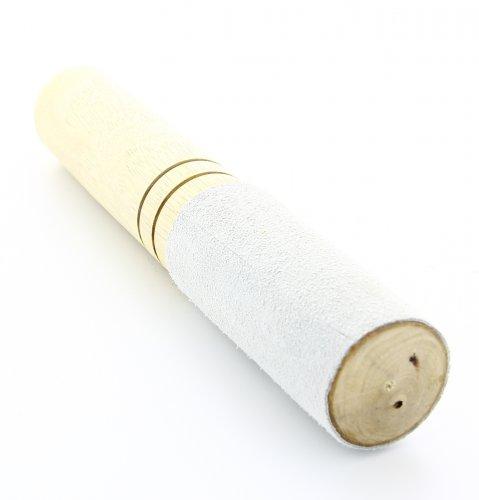 Bastoncino per Campana di Cristallo Rivestito per Meta in Pelle - Grande