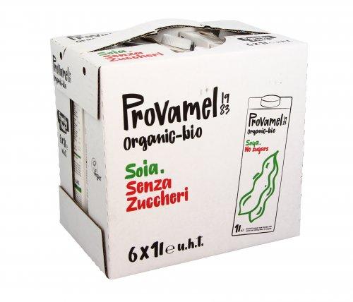 Latte di Soia Naturale - Bauletto 6x1 litro