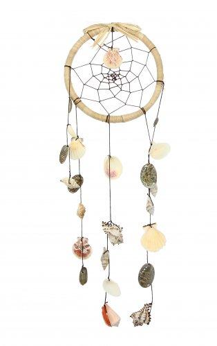 Acchiappasogni con Conchiglie - Beach Dreamcatcher Shells Natural