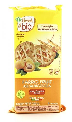 Break & Bio - Crostatine Farro Fruit all'Albicocca