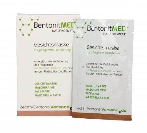 Maschera Viso Schiarente - Bentonit Med