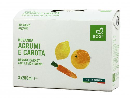 Bevanda di Agrumi e Carota