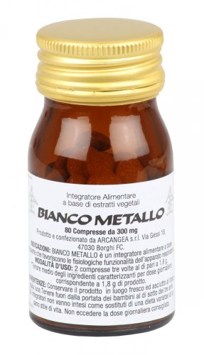 Bianco Metallo - Compresse