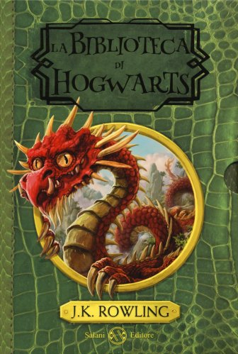 La Biblioteca di Hogwarts - Cofanetto 3 Libri
