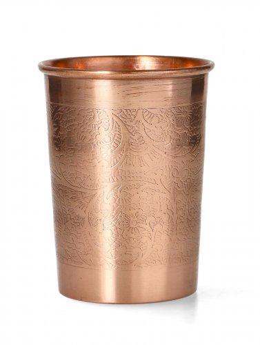 Bicchiere in Rame - Yogi e Yogini